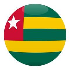 boule togo ball drapeau flag