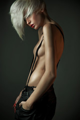 Sexy blonde beauty