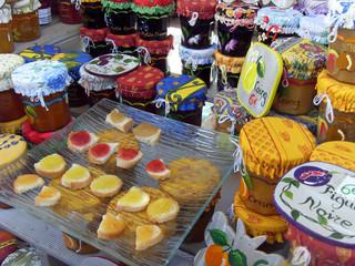confiture artisanale marché de provence