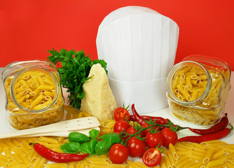 Pasta italiana - Penne all'arrabbiata