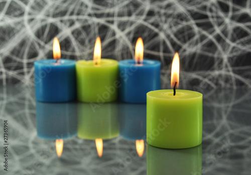 Kerzen Dekoration Von Photocrew Lizenzfreies Foto