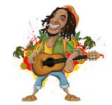 Fototapety Reggae Artist
