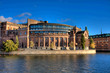 Beutiful Parliament building in Stockholm Sweden : HDR image