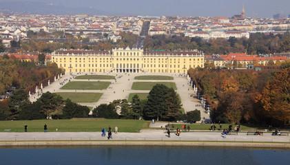 Schönbrunn, Schloss von Sisi, Wien