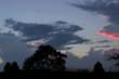 Landscape, clouds, timelapse