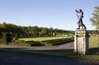 a statue at The Drottninghilms royale palace