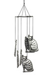 Cat wind chime poster