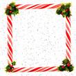 Festive Peppermint Frame