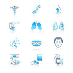 Medicine icons | MARINE series