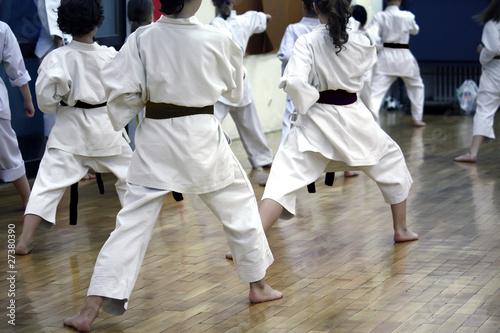 Fototapeten,karate,üben,schulung,sport