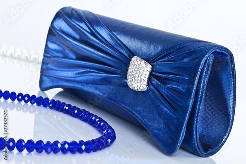 Ladies' handbag and beads