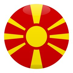 boule macedoine macedonia ball drapeau flag