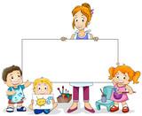 Fototapety Art Class for Kids