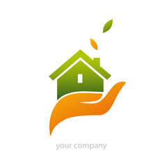 logo entreprise, logement durable
