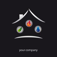 logo entreprise, logo plombier