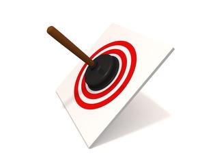 plunger in target