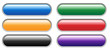 Blank Vector Web Buttons (template internet click here colours)