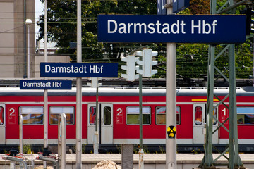 Darmstadt railway station