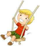 Kid on a Swing