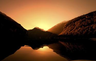 Geiranger Sunset