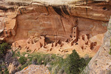 Cliff Dwellings at Mesa Verde National Park, Colorado, USA poster