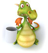Dragon et mug