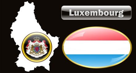 Флаг Люксембург