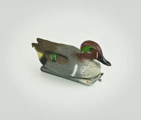 Plastic Decoy duck