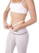 Slim measuring waist body