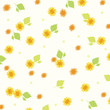 flower background yellow 2