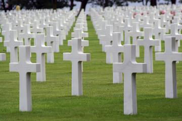 cimetière américain débarquement