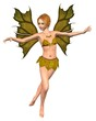 Autumn Leaf Fairy - dancing