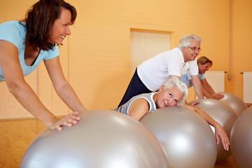 Erschöpfung im Fitnesskurs