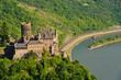 Burg Katz und der Rhein