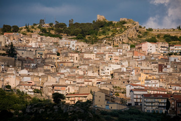 medieval town Agira, Sicily