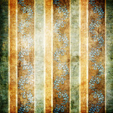 old striped shabby wallpaper poster
