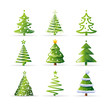 Christmas tree set - 27431724