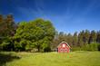 Altes schwedisches Bauernhaus