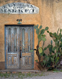 Door at Elysian Grove Market Tucson