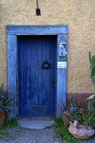 Blue Door at Elysian Grove Market Tucson