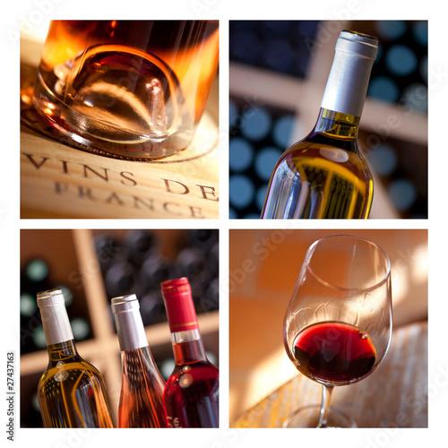 Vin chai cave millésime œnologie dégustation bouteille © Redzen