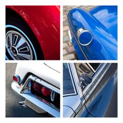 Auto voiture collection vintage garage mécanique carrosserie