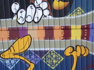 dettaglio di graffiti