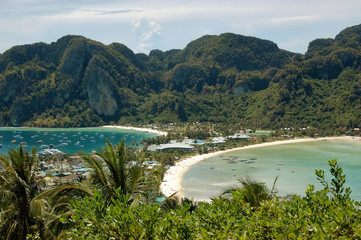 View of Phi Phi island from view point