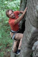 Rock-climber.