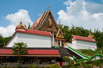 Church at Wat Kaolam temple