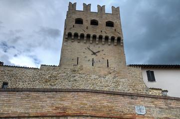 Porta St. Agostino. Montefalco. Umbria.