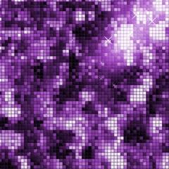 Disco background in modern purple