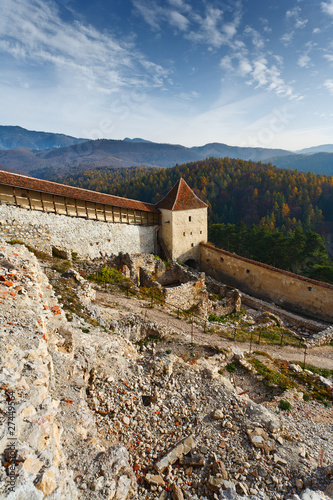 Rasnov fortress in Romania