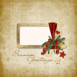 old Christmas greeting card